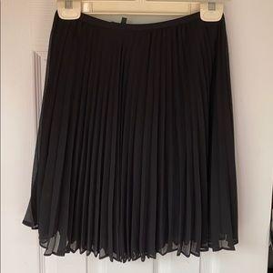 Babaton pleated skirt